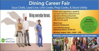 Dining Career Fair